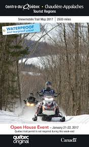 Snowmobile Trail Maps Michigan by Snowmobiler U0027s Guide Snowmobile In Quebec