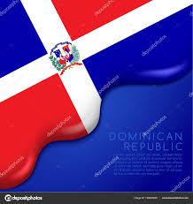 Dominican Republic Flags Dominican Republic Flag U2014 Stock Vector Daraon 159695320