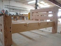 Timber Frame Bed Heritage Timber Frames Sale Items
