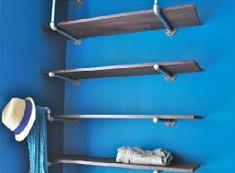 Garage Wall Shelves by Industrial Wall Shelves To Use In Your Garage Minimalist Design
