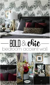 Bedroom Accent Wall by Master Bedroom Accent Wall With Wallpaper This Is Our Bliss