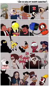 Favorite Character Meme - favorite characters meme by leoelbarto on deviantart