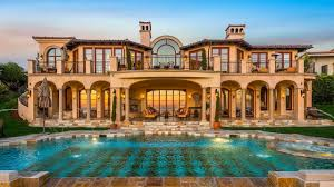 mediterranean style mansions luxurious oceanfront mediterranean style home in la offers
