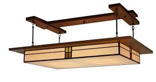 Craftsman Led Lig Dining Room Lighting Prairie Style Light Fixture 907 Craftsman