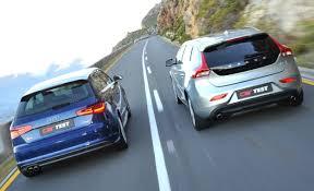 volvo c30 vs audi a3 volvo v40 v audi a3 totally car