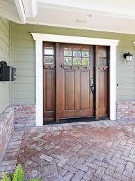 Exterior Wood Stain Colors Elearan Com by Exterior Wood Doors With Glass Panels Aloin Info Aloin Info