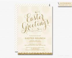 easter brunch invitations gold glitter invitation easter brunch invitation modern glam