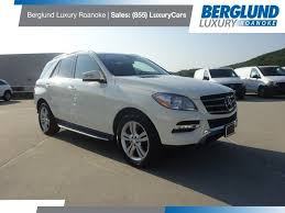 2013 mercedes 350 suv pre owned 2013 mercedes m class ml 350 suv in roanoke