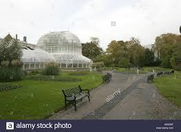 Botanic Garden Belfast by The Palm House Botanic Gardens Belfast Stock Photo Royalty Free