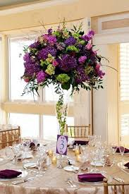 Tall Wedding Reception Centerpieces by 77 Best Purple Weddings Images On Pinterest Marriage Wedding