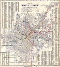Traffic Map Los Angeles by Map Of Los Angeles California Rail Systems 1906
