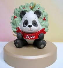 2014 precious moments dated panda ornament happy days