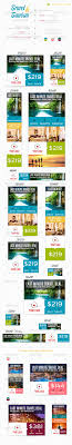 Ohio travel set images Travel tourism web banner set template psd buy and download jpg