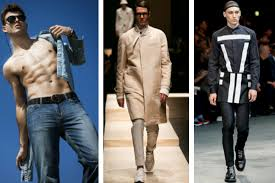 tendencias en ropa para hombre otono invierno 2014 2015 camisa denim moda para hombre primavera verano 2015