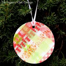 washi ornaments the country chic cottage