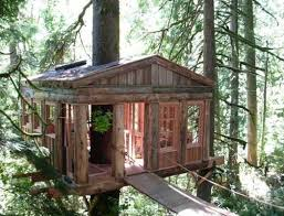 Simple Backyard Tree Houses by Modern Tree House Designs Bring Back Romantic Backyard Ideas