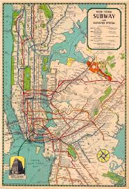 Subway New York Map by 11 Best New York City Subway Maps Images On Pinterest New York