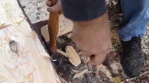 Log Floor by 10 U0027 X 8 U0027 Log Cabin Episode 2 Floor Joists Part 1 Youtube