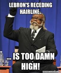 Receding Hairline Meme - receding hairline meme 28 images sports lebron hairline meme