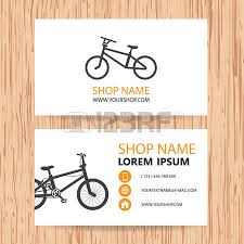 Bicycle Business Cards 330 Bicycle Theme Stock Vector Illustration And Royalty Free