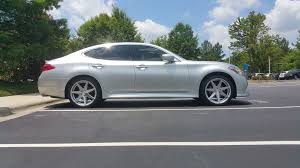 infiniti fx50 lowered my new rohana rc7 wheels and tires have been installed nissan