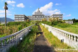 Beautiful Abandoned Places by Even Without Entering The Hachijo Royal Hotel It Was A Great