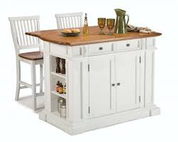 rustic rolling kitchen island with stainless steel top for