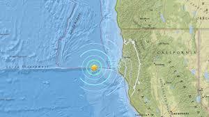 Usgs Earthquake Map California 5 6 Quake Strikes Off Coast In Humboldt County Abc7news Com