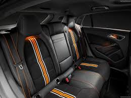 orange mercedes mercedes benz cla shooting brake 2016 picture 36 of 39