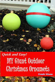 how to make easy diy outdoor ornament decorations