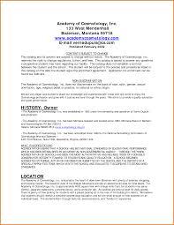 Cosmetologist Job Description Resume by Resume Cosmetologist Resume