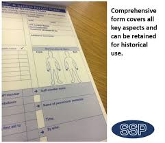 accident reporting book ssp accident incident and illness report self duplicating