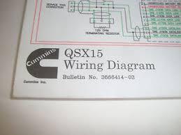 cummins qsx15 engine wiring diagram bulletin no 3666414 03 w fault