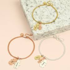 family bracelets personalised family bracelet angel jewellery