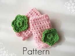crochet pattern children u0027s fingerless gloves with crochet