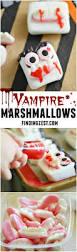 No Bake Halloween Treats by Halloween Vampire Marshmallows Finding Zest