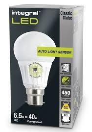 dusk to dawn light sensor dusk to dawn light bulbs sensor l led 40 60w equivalent integral led