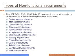 Resume Requirements Functional Requirement Document The Scenarios Should Be 7