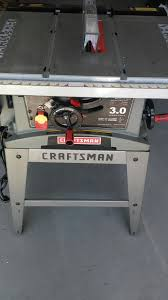 heavy duty table saw for sale craftsman 10 in table saw heavy duty universal motor 3 0 model no