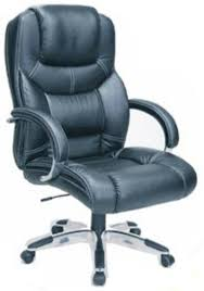 Real Leather Office Chair Techni Mobili Rta 2819h Executive Leather Office Chair Black