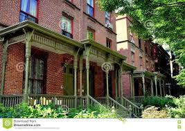 Row Homes by Nyc Astor Row Houses In Harlem Editorial Stock Image Image