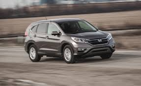 honda crv second price 2015 honda cr v ex fwd test review car and driver