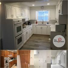 best paint finish for kitchen cabinets what sheen to use when painting my kitchen the picky