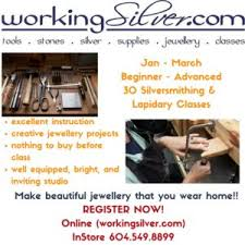 Tools For Jewelry Making Beginner - jewelry making supplies stones u0026 classes workingsilver canada