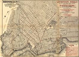 Old Nyc Subway Map by The Most Beautiful Old Brooklyn Maps