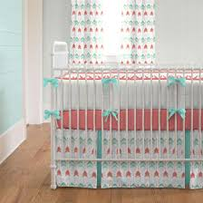 Design Crib Bedding Bedding Cribs Vintage Grey Furniture Design Home Interior Coral