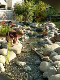 creative of backyard creek ideas how to diy a natural creek bed in