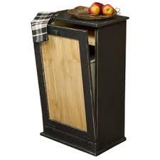 wooden bin wood tilt out trash bin cabinet dnlwoodworks