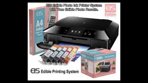 edible sheets the best edible ink printer system edible photo printing on a3