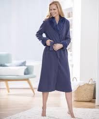 robe de chambre damart robe de chambre maille polaire acier femme damart